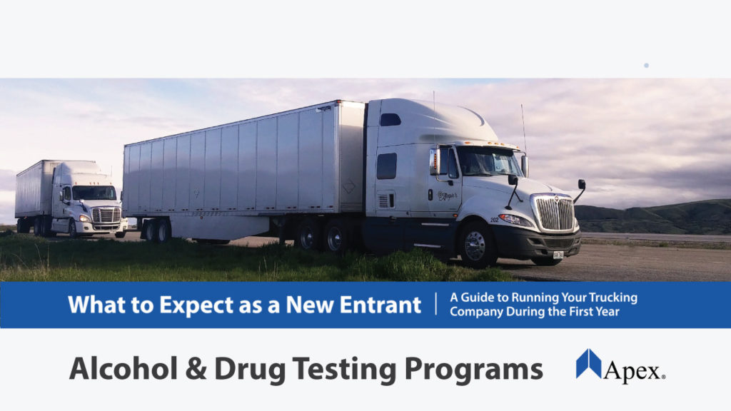 Alcohol & Drug Testing Programs for Trucking Companies