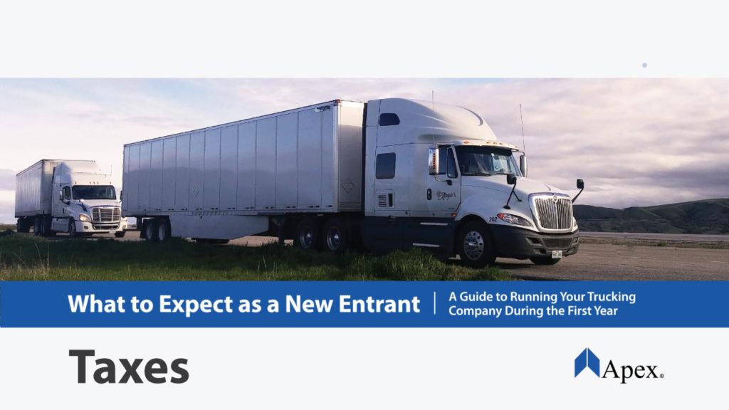 New Entrant Taxas