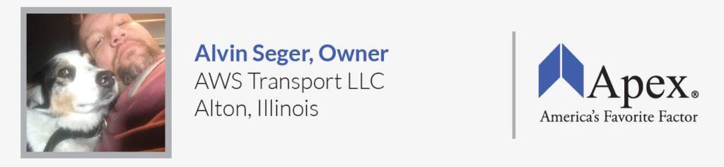 AWS Transport | Alvin Seger