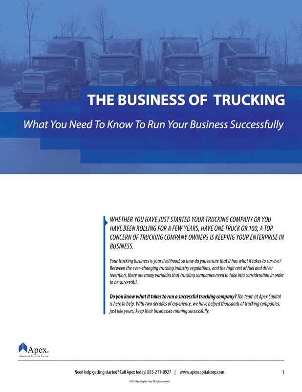 Business of Trucking White Paper