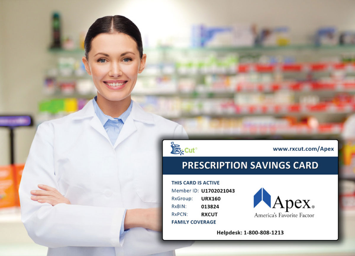 Apex Prescription discount card