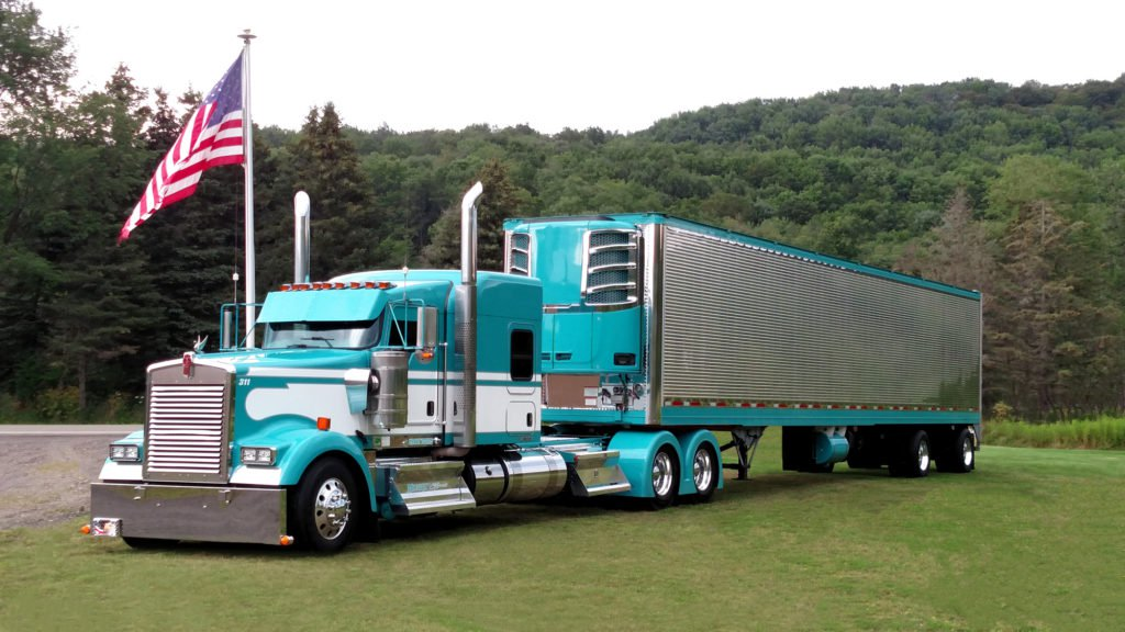Midnight Express Turquoise Truck