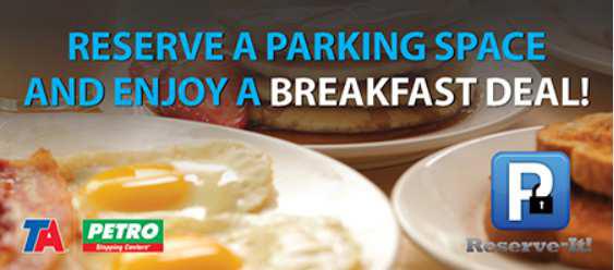 TA Petro Reserve-it Breakfast