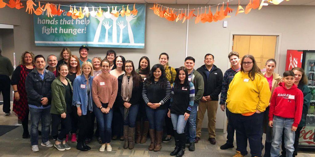 Apex Capital Volunteers at Tarrant Area Food Bank