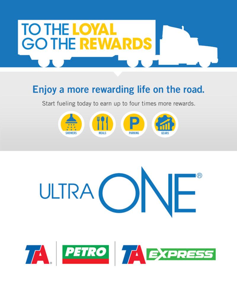 TA Petro Ultra One Loyal Rewards