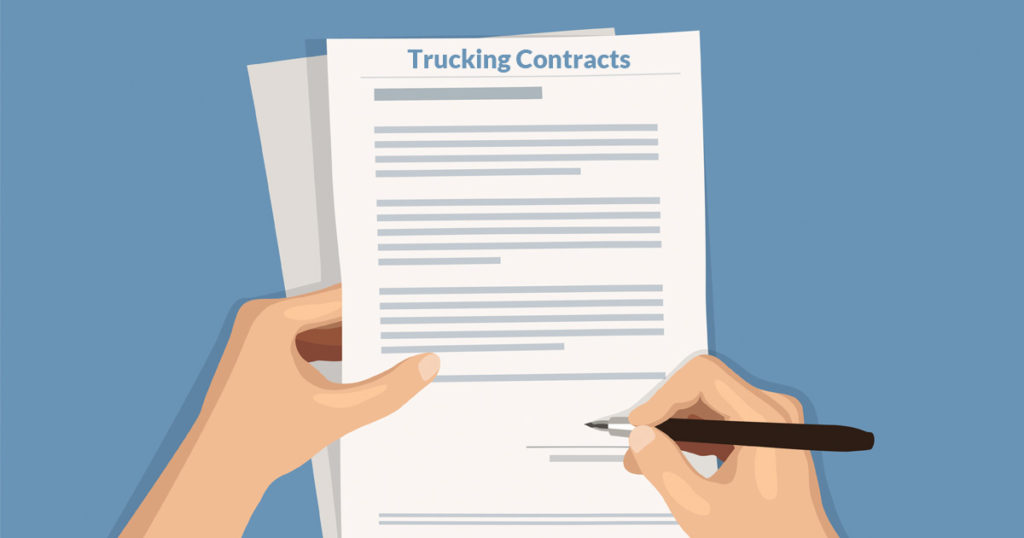 How to Get Trucking Contracts | Apex Capital Blog
