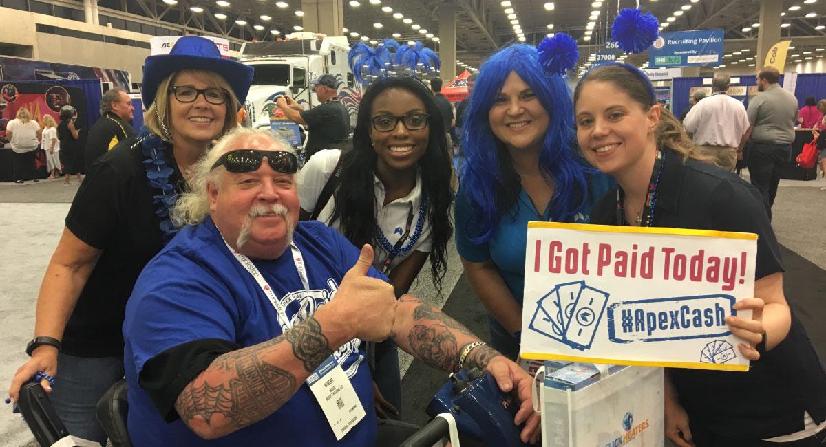 Apex Blue Cash Crew at GATS