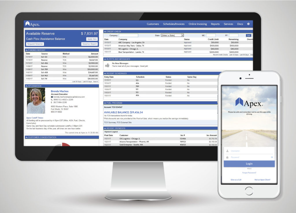 Apex Online Invoicing