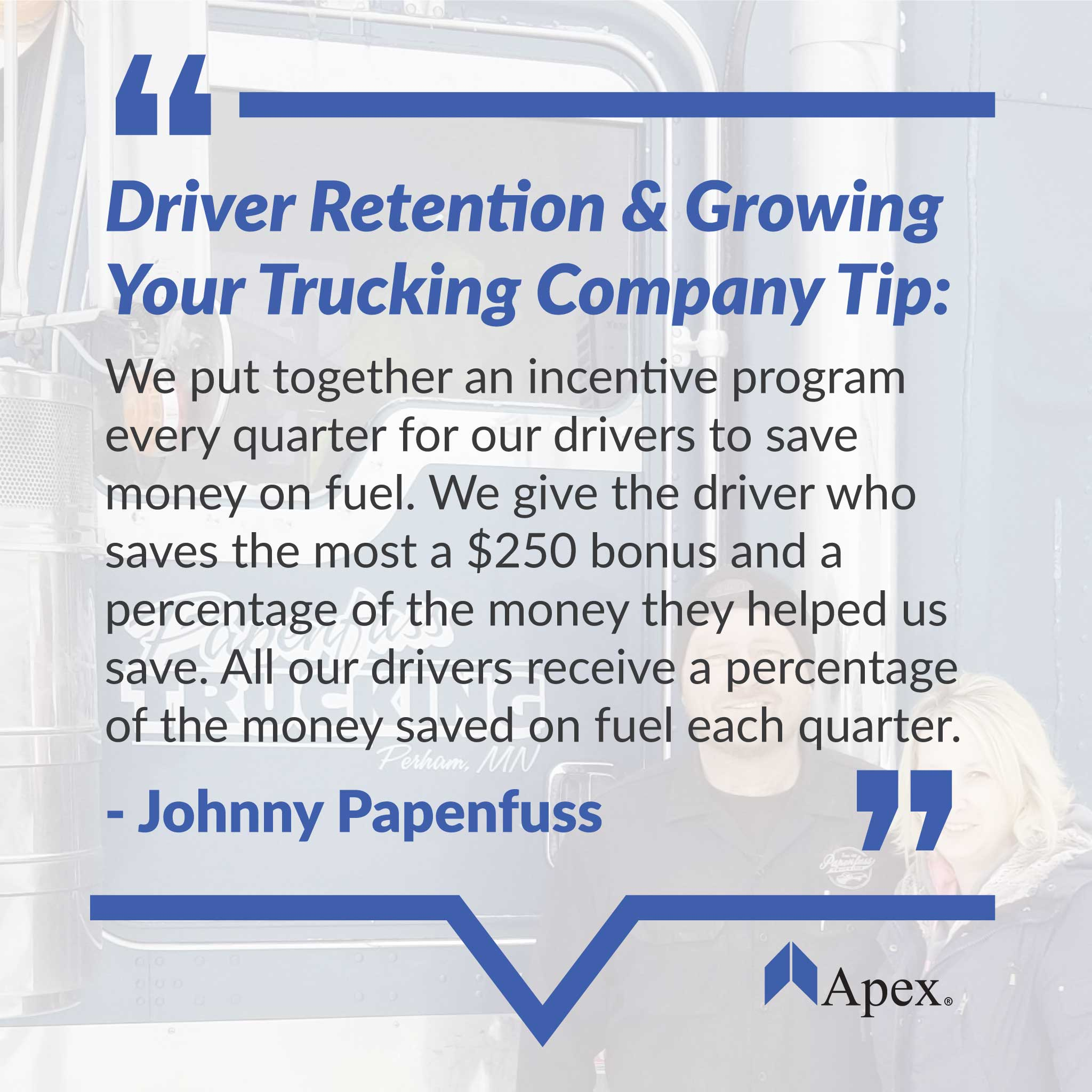 Pappenfuss Trucking | tip to grow your trucking company