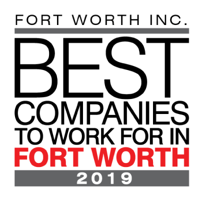 Apex is one of Fort Worth Inc.'s Best Companies to Work for in Fort Worth