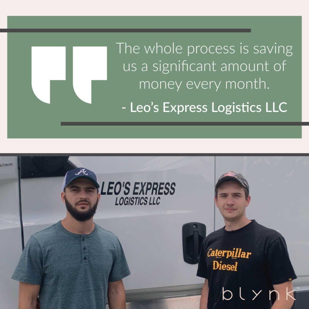 Leo Express Saving Money