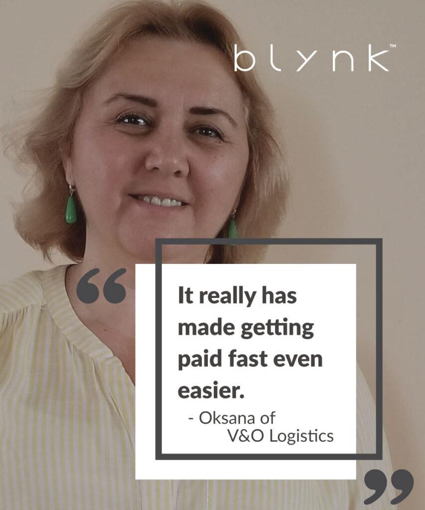V&O Logistics Faster Pay