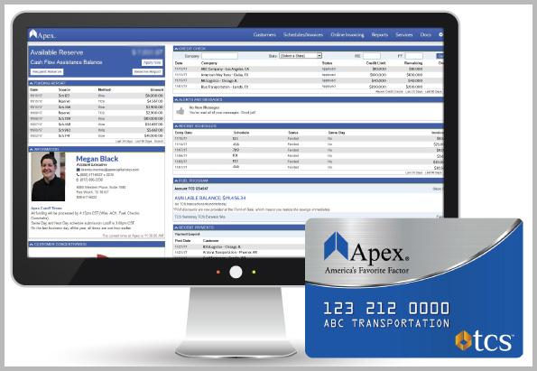 Apex TCS Fuel Card