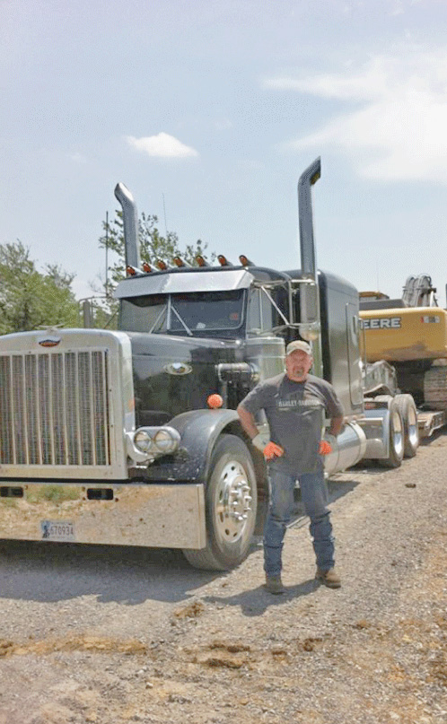 Buddy Hall with Classic Trucking in Oklahoma